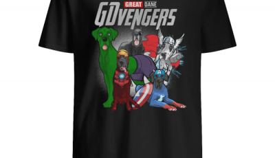 Great Dane Gdvengers Avenger shirt