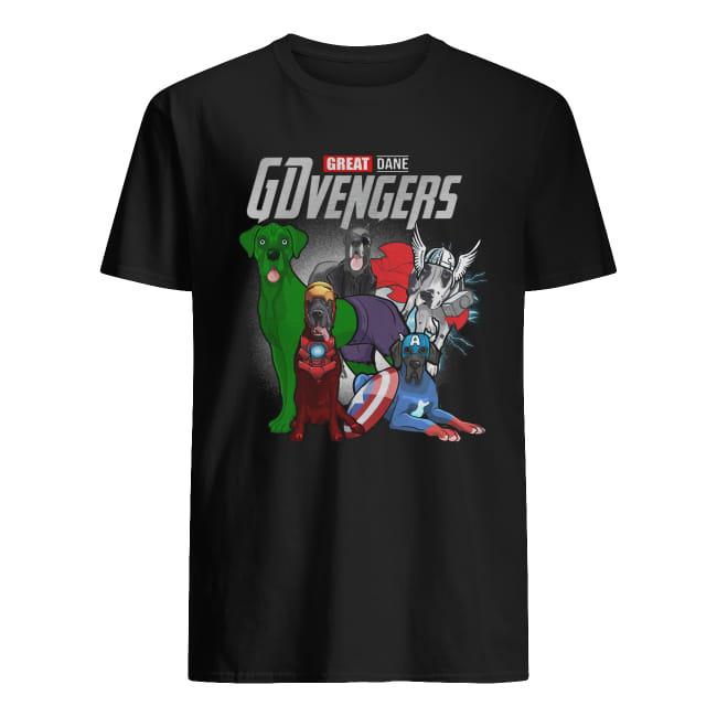 Great Dane Gdvengers Avenger shirt