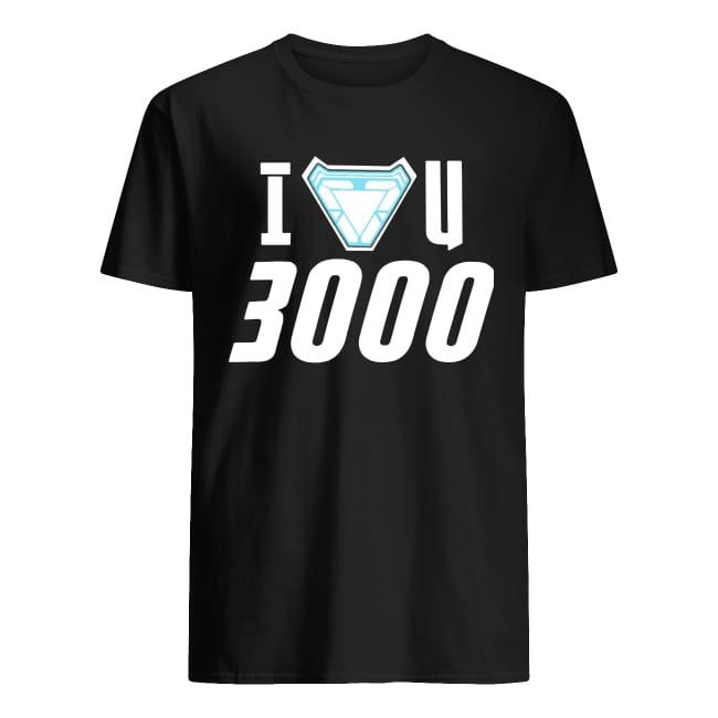I Love You 3000 Iron Man Stark Avengers T Shirt