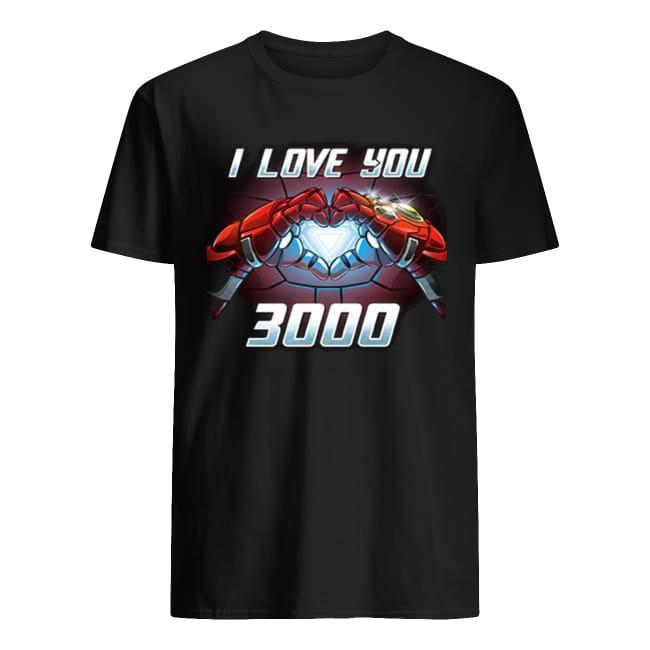 I am Iron Man I love You 3000 times shirt