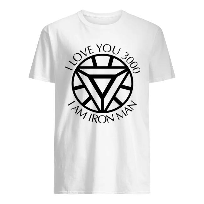 I love you 3000 I am Iron Man Shirt