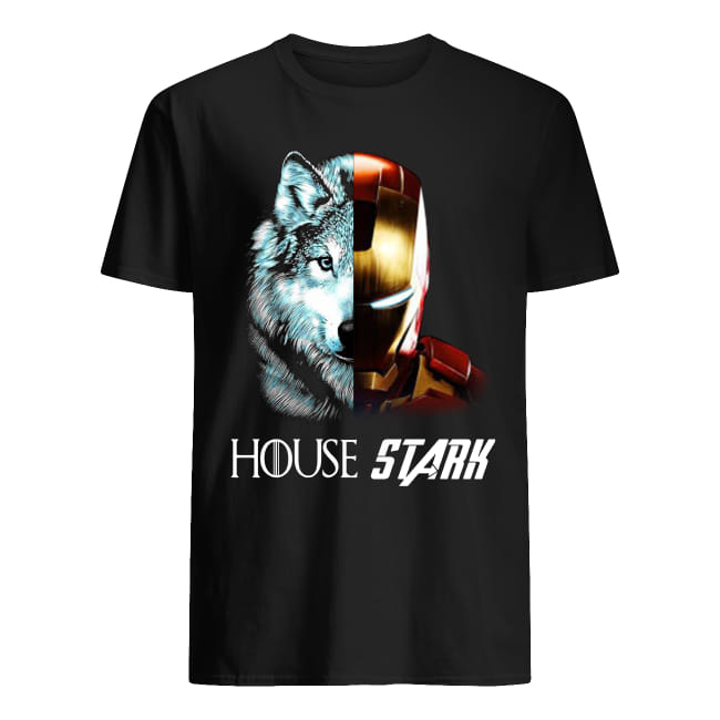 Ironman GOT House Stark Shirt