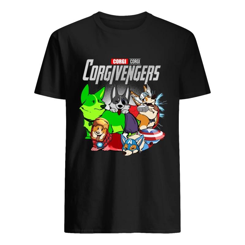 Marvel Avengers Endgame Corgi Avengers shirt