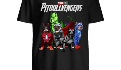 Marvel Avengers Endgame Pitbull Avengers shirt