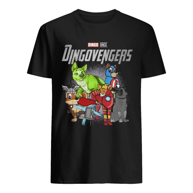 Marvel Dingo Dingovengers Avengers endgame shirt