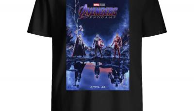 Poster Marvel studios avengers endgame shirt