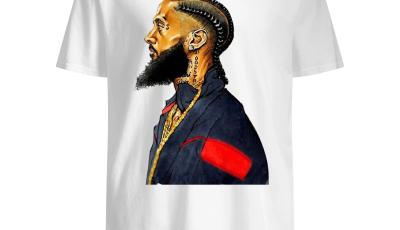 Rapper Nipsey Hussle rest in peace shirt