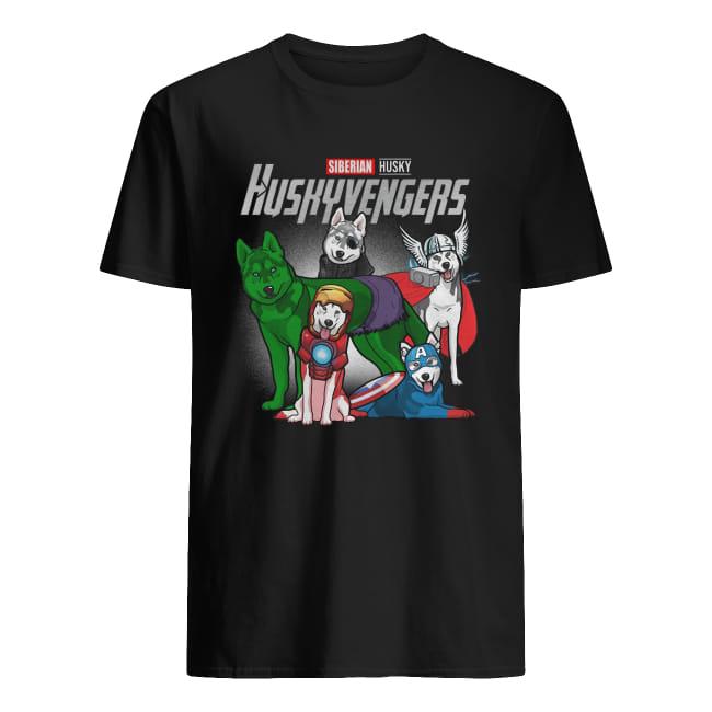 Siberian Husky Huskyvengers Avenger shirt