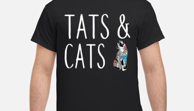 Tats and cats tattoo shirt