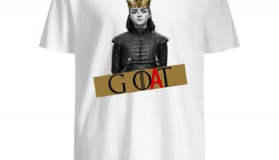 Arya Stark GOAT GOT Shirt