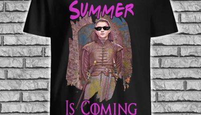 Arya Stark Summer Is Coming Game Of Thrones Shirt