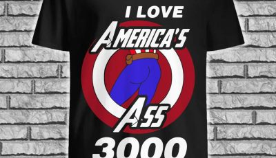 Captain America I love American ass 3000 shirt