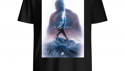 Captain America Worthy Of Thor Hammer shirt