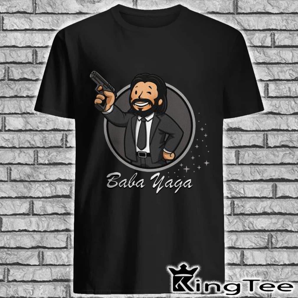 Chibi John Wick baba yaga shirt