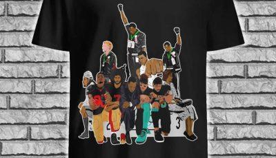 Colin Kaepernick 1968 Olympics black power peaceful protest shirt