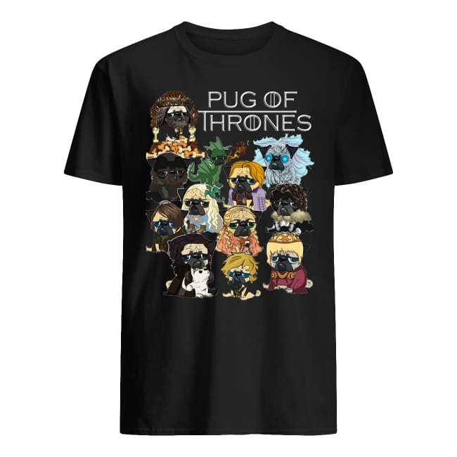 Game of thrones Pug of Thrones shirt