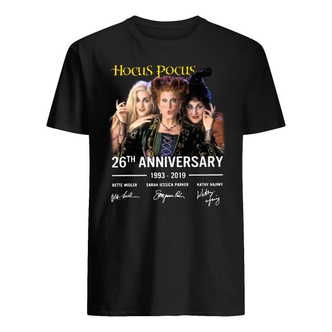 Hocus Pocus 26th Anniversary 1993 2019 Signature shirt