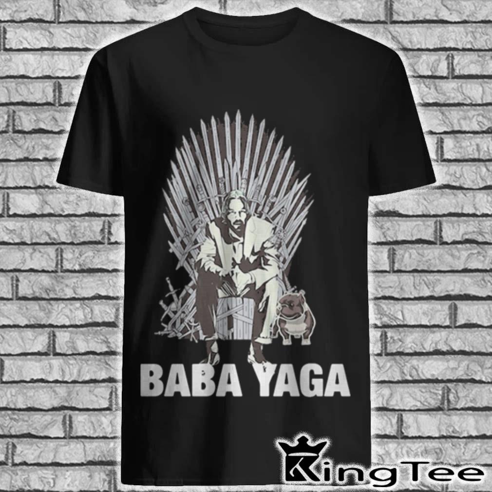 John Wick and dog Baba Yaga Game of Thrones shirt