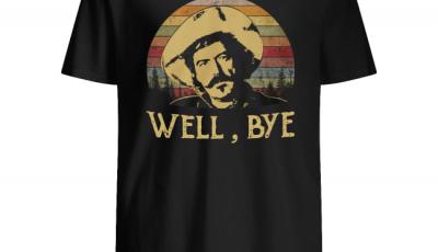 Johnny Ringo Tombstone well bye vintage sunset shirt