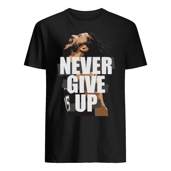 Mo Salah Never Give Up Shirt
