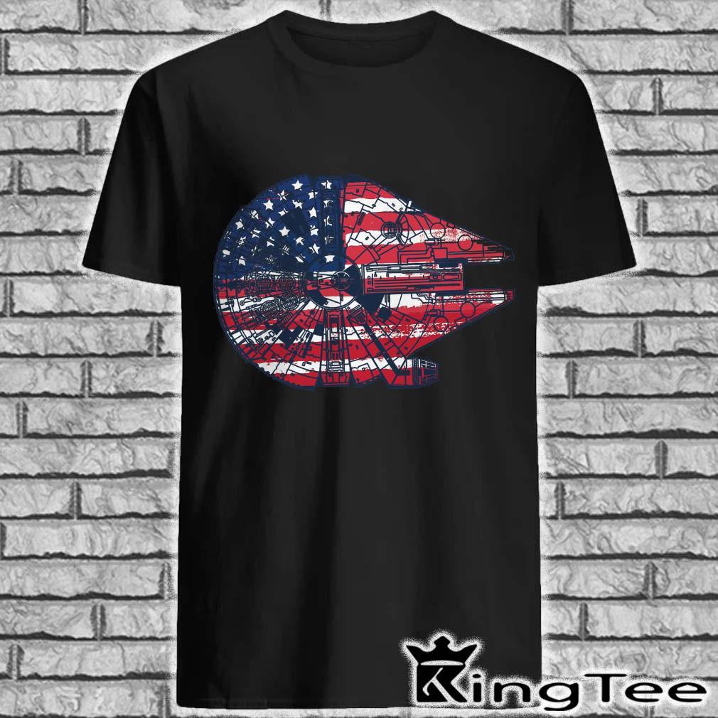 Falcon Premium American Flag Shirt