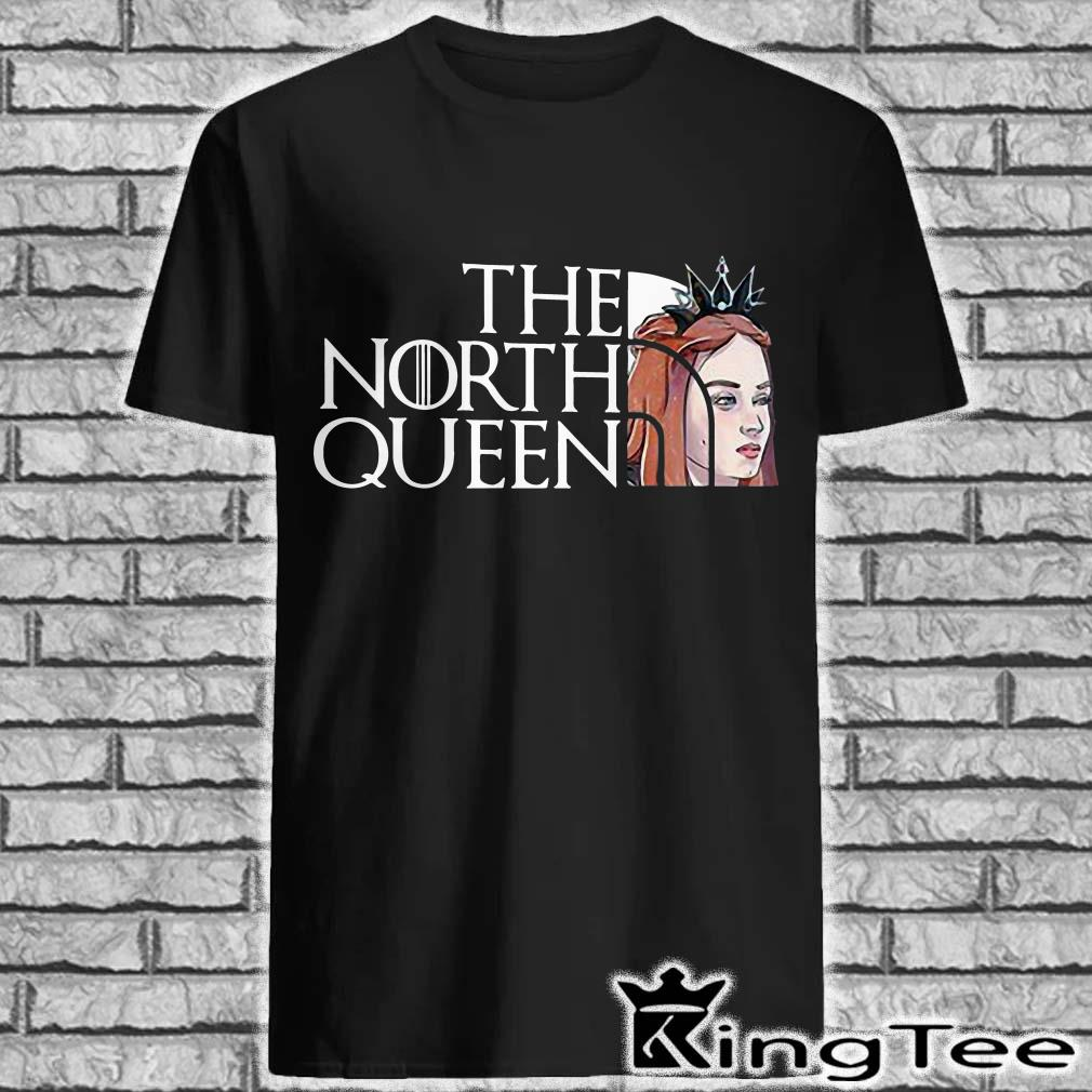 Sansa Stark queen of the North The Borth Face shirt