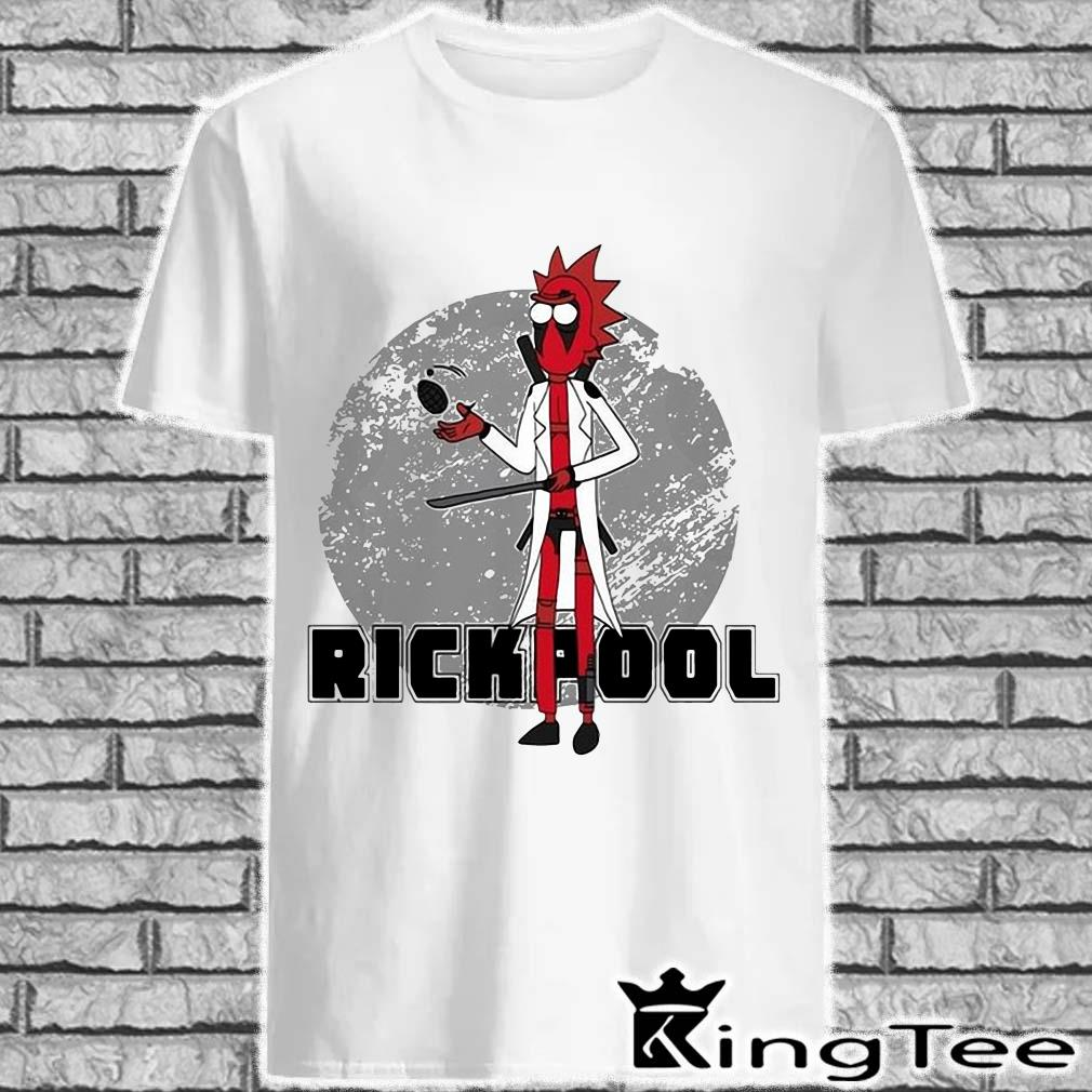 Rick And Morty Rickpool Deadpool Shirt