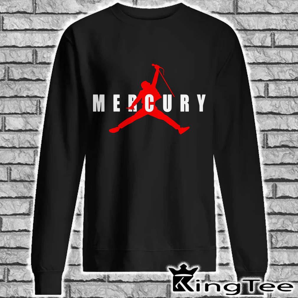 Freddie Mercury Air Jordan sweater