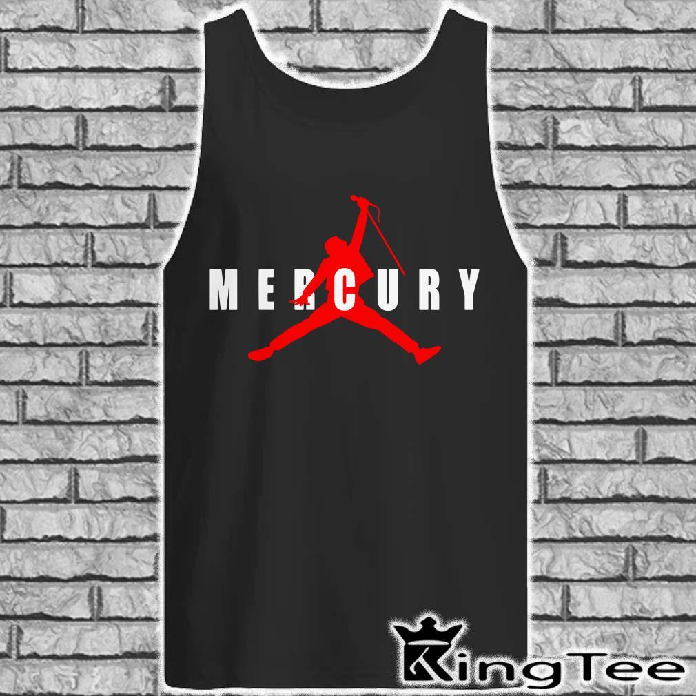 Freddie Mercury Air Jordan tank top