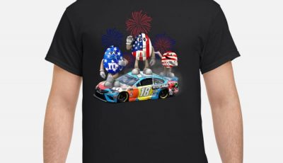 4th Of July independence day Kyle Busch M&M 18 hazelnut spread shirt
