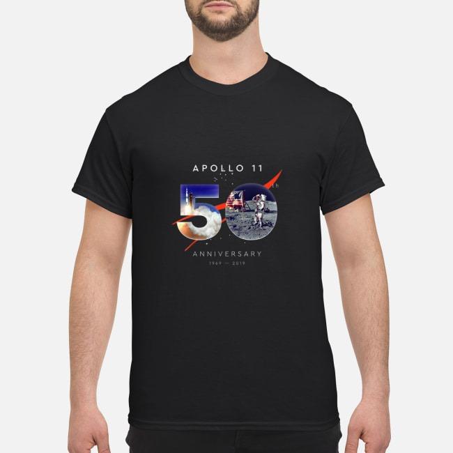 Apollo 11 50th Anniversary 1969 2019 shirt