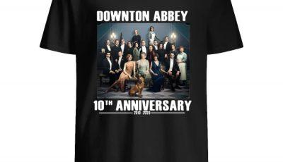 Downton Abbey characters 10th anniversary 2010 2020 shirt