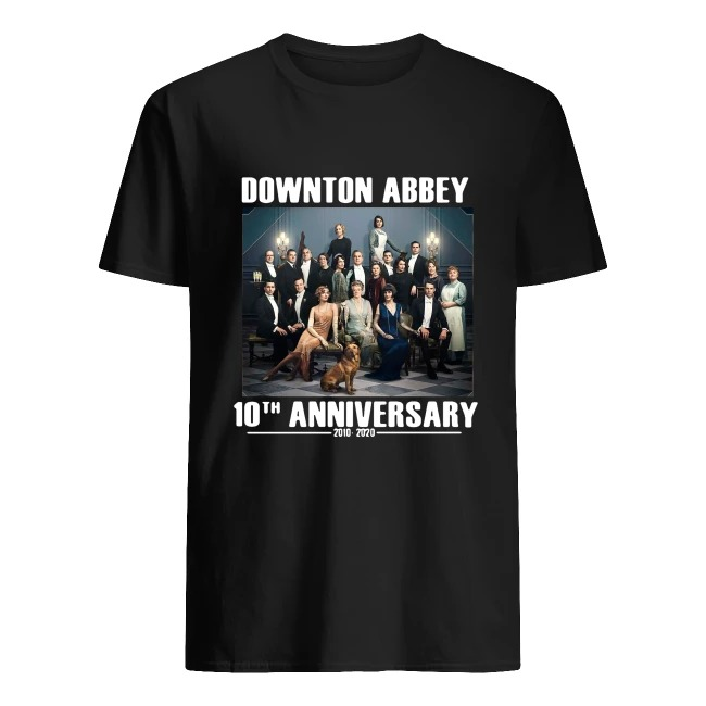 Downton Abbey characters 10th anniversary 2010 2020 shirt