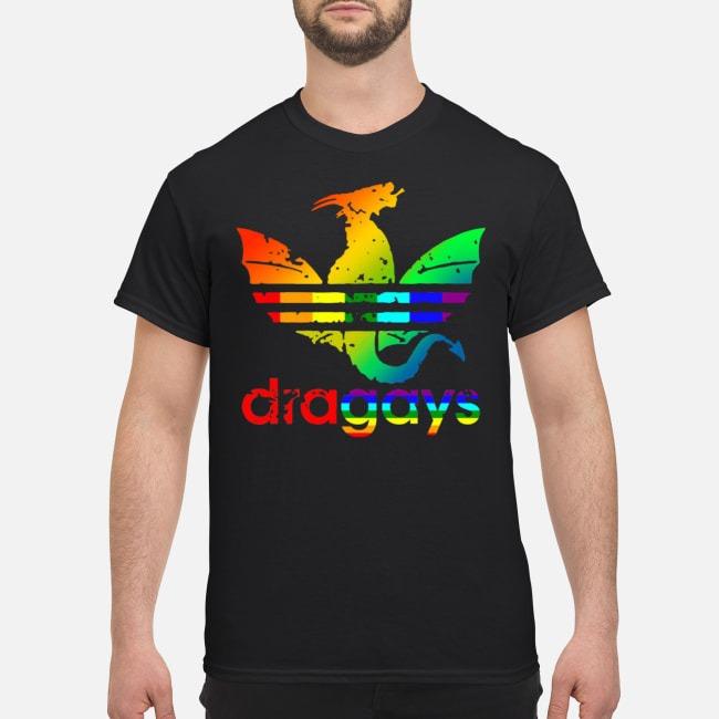 Dragays LGBT Dragon Shirt
