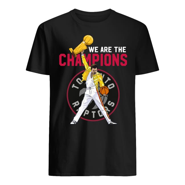 Freddie Mercury We Are The Champions Toronto Raptors Shirt