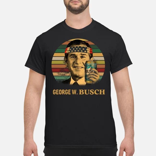 George W Busch Sunset shirt