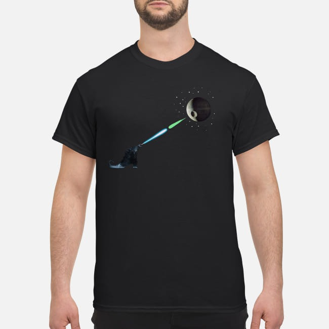 Godzilla Kamehameha Death Star Shirt