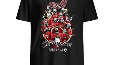 Liverpool FC 2018-2019 Uefa Champion League signature shirt