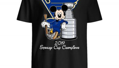 Mickey Mouse Stanley Cup Champions 2019 St. Louis Blues Shirt