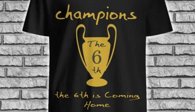 Champions The 6Th Is Coming Home shirt
