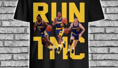 Golden State Warriors Run TMC shirt