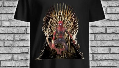 Spider Man Iron Throne Shirt