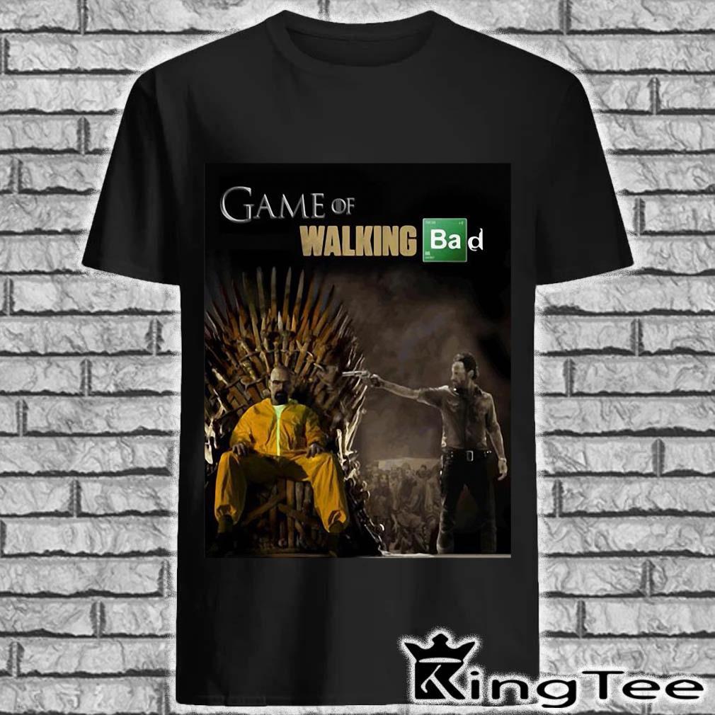 Game Of Walking Bad shirt