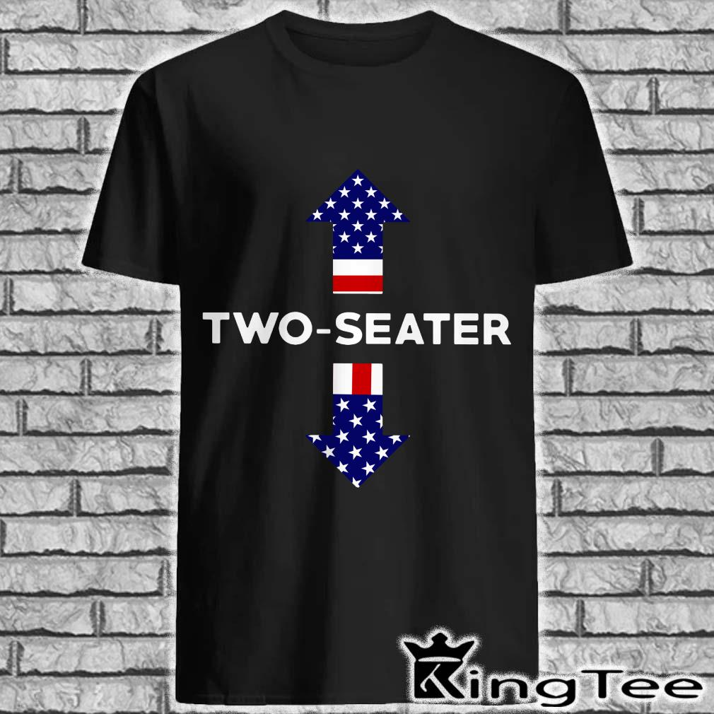 Two Seater American Flag Shirt