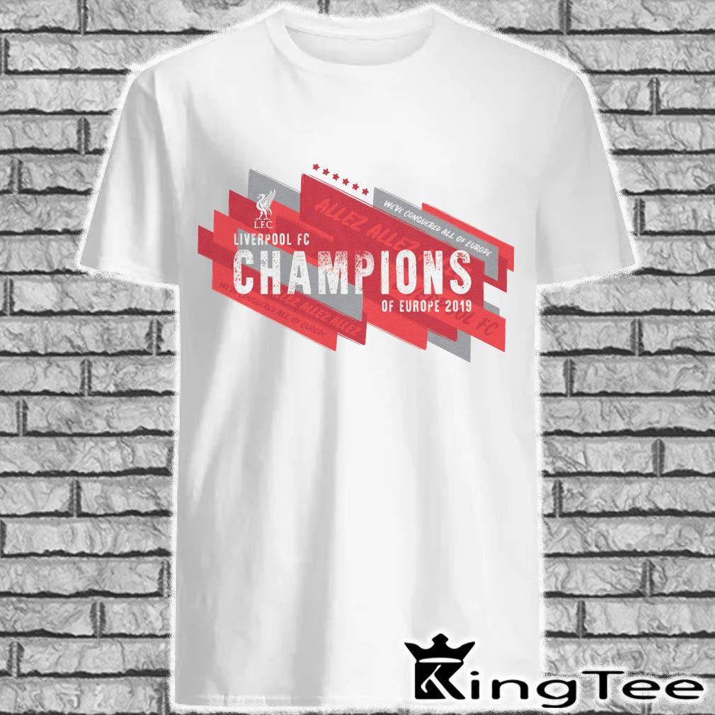 Liverpool 2019 UEFA Champions League Champions of Europe Ringer Shirt