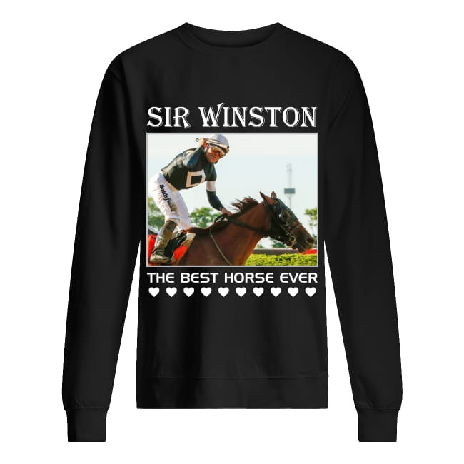 Sir Winston The Best Horse Ever Sweater