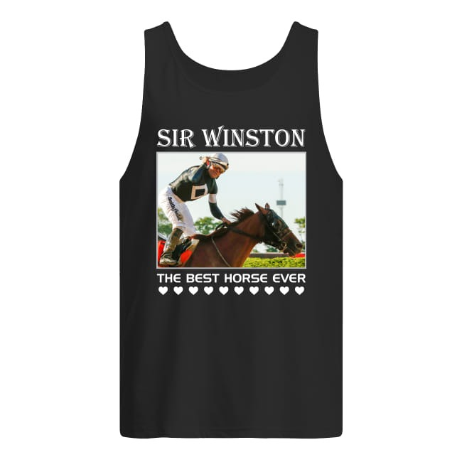 Sir Winston The Best Horse Ever Tank top
