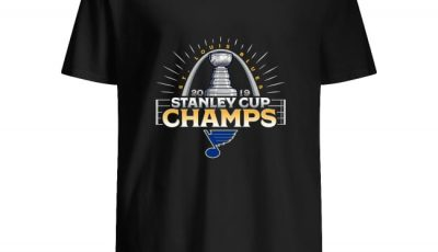 St. Louis Blues 2019 Stanley Cup Champions Parade Celebration Shirt