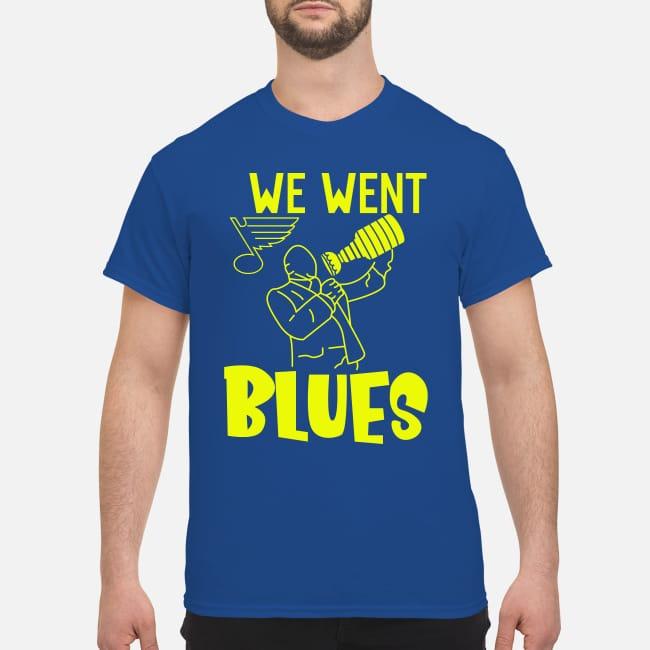 St. Louis Blues we went blues shirt