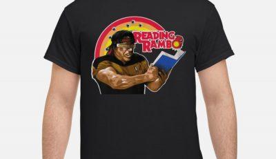 Stallone Rambo Reading Rambo Shirt